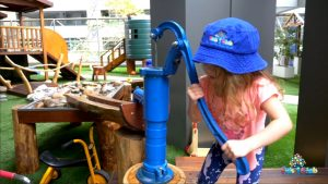 Water Play increases Motricity Skills