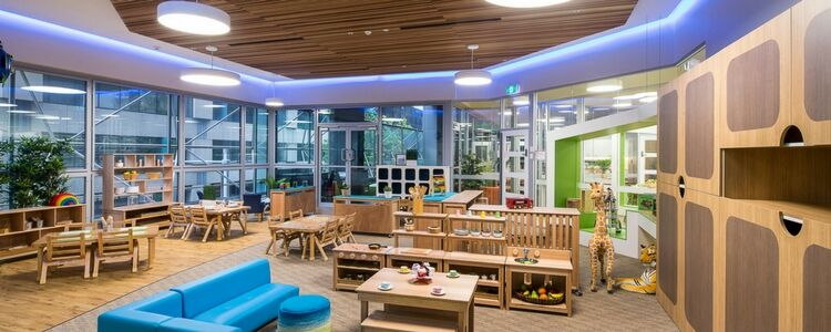 Kids Club Centre Interiors