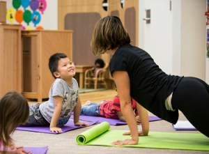 Yoga at Kids Club