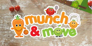 Munch & Move trained educators