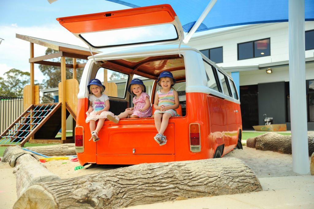 Combi Van Outdoor Play Scape