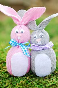 The many shapes of the Easter Bunny