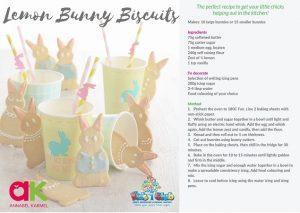 Lemon Bunny Biscuits