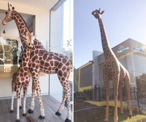 The childcare centre with the giraffes!