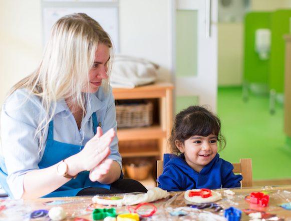Charlotte, Kids Club Kensington Parent